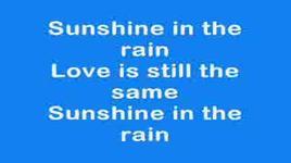 sunshine in the rain - bwo