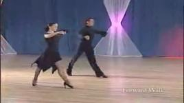 rumba (bronze) - walk warm up - slavik kryklyvyy, karina smirnoff, dancesport