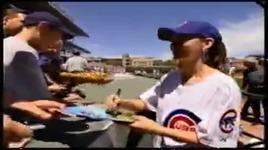 shania twain - take me out to the ballgame (wrigley field with pre-game meetings and first pitch) - shania twain
