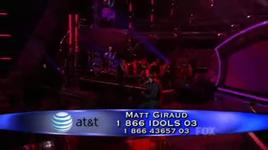 my funny valentine (american idol 8) - matt giraud