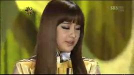 you and i (sbs gayo daejun 2009) - park bom (2ne1), tae yang (bigbang)