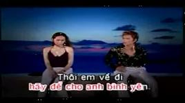 anh khong muon lam nguoi thu ba (karaoke) - lam chan huy