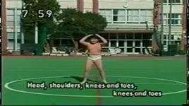 head shoulders knees and toes - japane