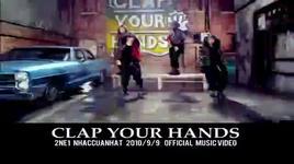 clap your hands - 2ne1