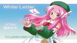 white letter - hatsune miku