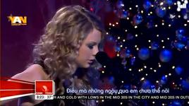 christmas is when you were mine - taylor swift