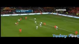 sneijder ghi ban dep mat trong tran ha lan - ao - dang cap nhat