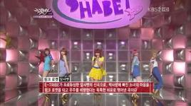 pink rocket (live) @ music bank 15/4/2011  - dal shabet