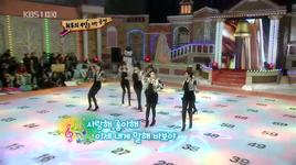 why are you being like this (live) @ kbs ring the golden bell - t-ara