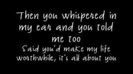 it's all about you (lyrics) - mcfly
