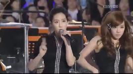 hoot + gee @ pyeongchang winter olympics concert (live) - snsd