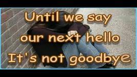it is not goodbye - laura pausini