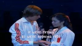 breaking free - zac efron, vanessa hudgens