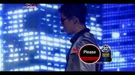 please + break down (music bank comeback stage) - kim hyun joong