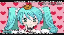 world is mine - miku