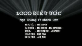 1000 dieu uoc - khanh don