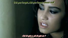 don't forget (vietsub) - demi lovato