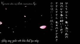 tsuki wa kasumi hana wa chiri (vocaloid vietsub) - kaito, meiko