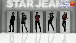 spao cf - star jeans (part 1) - super junior, snsd