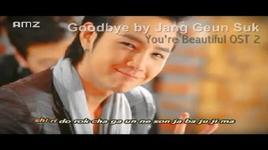 goodbye (ost you're beautiful) - jang geun suk