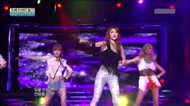 in the night sky ( music core 30/7/2011) - after school red