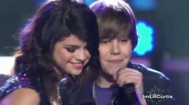 who says love you like a love song never say - justin bieber, selena gomez