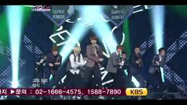 mr. simple (music bank hot stage 12/8/2011) - super junior