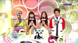 mc cuts (live 20.8) - eun hyuk (super junior), suzy (miss a), ji yeon (t-ara), dong hae (super junior)