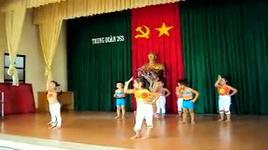 lop choi nhay dance boom boom boom - mam non hoa hong do - dang cap nhat