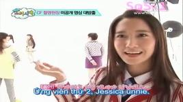 y star @ right now it's snsd (ep 1 part 4/5) - snsd