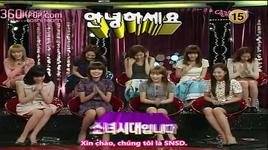 sweet night show ep4 (vietsub) - part 1 - snsd