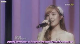 one year later - jessica jung, onew (shinee)