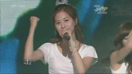 oh my love (live) - tiffany (snsd), jessica jung, seo hyun (snsd)