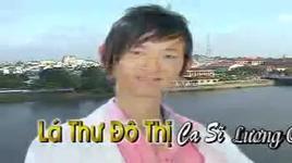 la thu do thi - luong chan dong