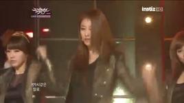 cry cry (music bank @ kbs 25/11/2011) - t-ara