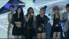 best dance performance female group @ mama 2011 [singapore]  - miss a