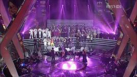 all artist (special live - ending korea & china music festival 2011) - snsd, cnblue, u-kiss, t-ara, snsd, u, kiss, t, ara