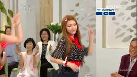 roly poly - kbs morning place live - t-ara