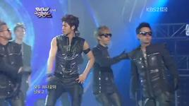 keep your head down & rising sun (music bank 600th) - dbsk