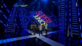 super man, a cha, mr.simple (111013 m!countdown) - super junior