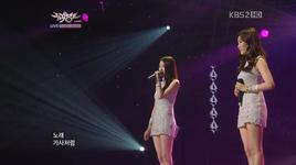 don't say goodbye (111014 music bank) - davichi
