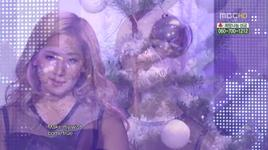 all i want for christmas is you, be my baby (111224 music core) - wonder girls