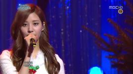 silver bells (111225 snsd's christmas fairy tale) - snsd, sung si kyung