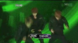 dance performance (2011 sbs gayo daejun) - mblaq, infinite