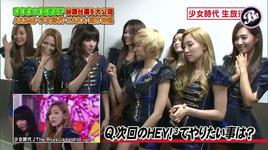 the boys - japanese version (interview) - snsd
