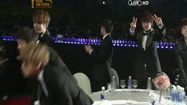bonsang award winning speech @ the 21st seoul music awards (19/1/2012) - beast