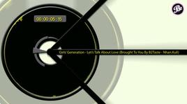 let's talk about love (music animation by b2taste) - snsd