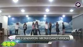 snsd - mr.taxi (dance practice) - snsd