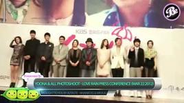 yoona & all photoshoot - love rain (press conference mar 22.2012) - yoona (snsd)
