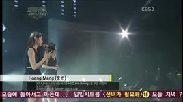 hoang mang (kbs) - davichi, ho quynh huong
